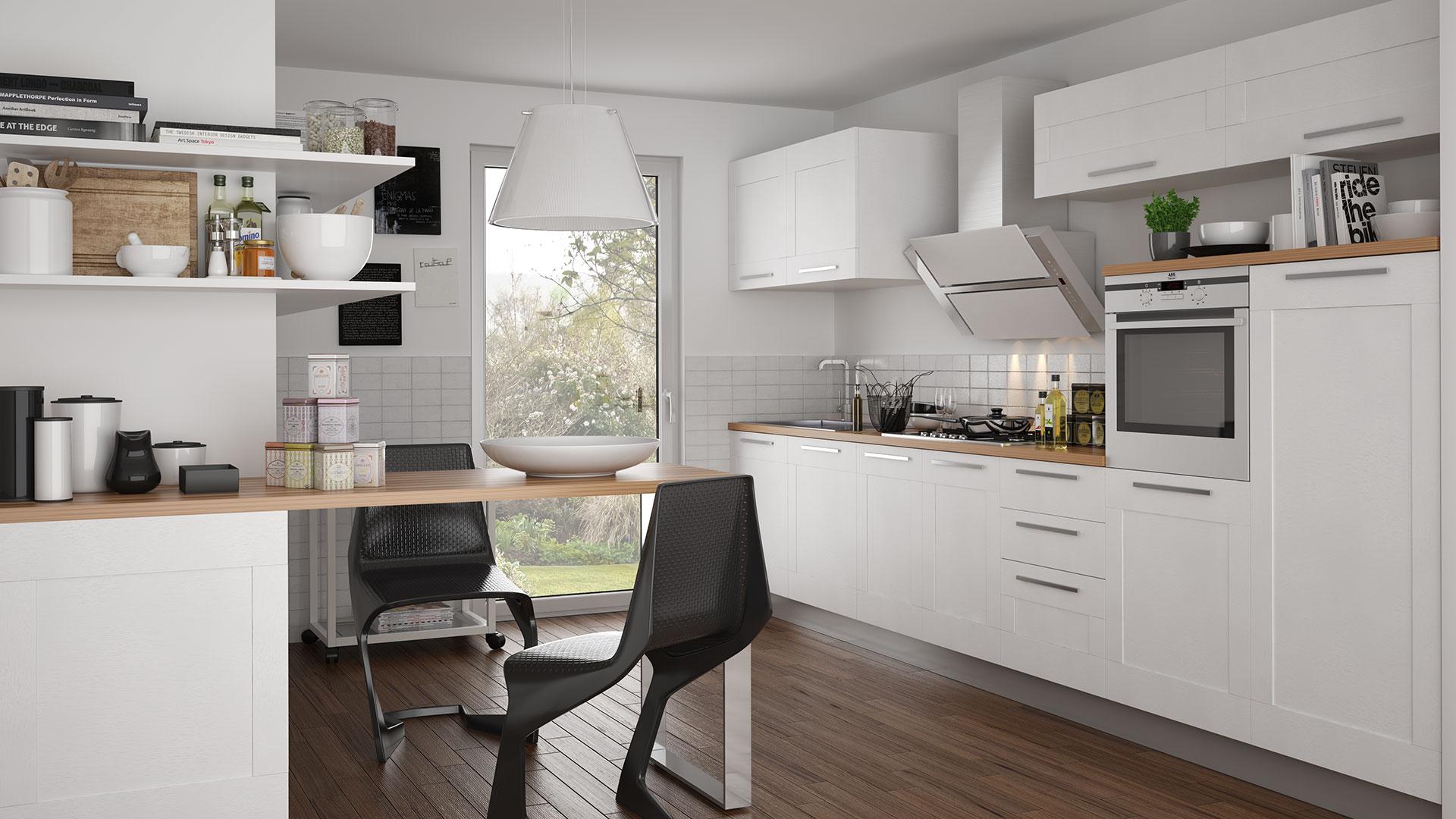 Rendering interni global cucina produzione video for Rendering 3d interni