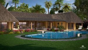 Animazione 3d di Motik per residenziale Andilana, Nosy Be, Madagascar - img0