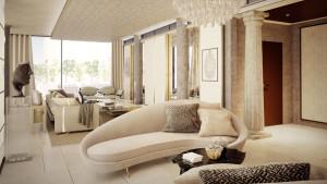 Rendering interni, villa libano, motik - img2