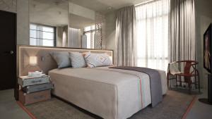 Rendering interni, villa libano, motik - img4
