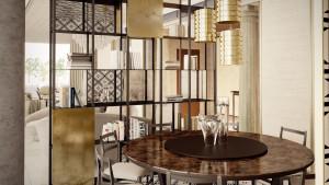 Rendering interni, villa libano, motik - img16