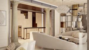 Rendering interni, villa libano, motik - img10